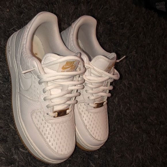 Air Force Low With Bubble Gum Soles